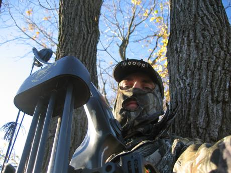 Kris in Tree Stand